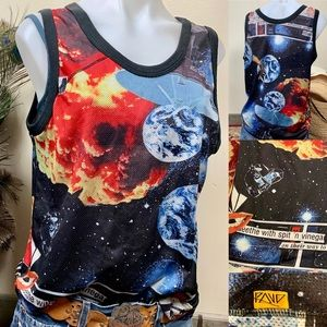 Volcom Top Graphic All Over Sublimation Tank Top